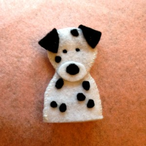 Puppy Finger Puppets - Dalm