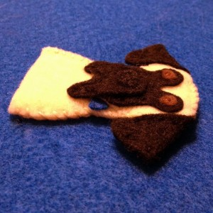 Custom Puppy Dog Finger Puppet {Felt With Love Designs}