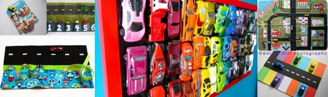 Links With Love: DIY Toy Car Activities