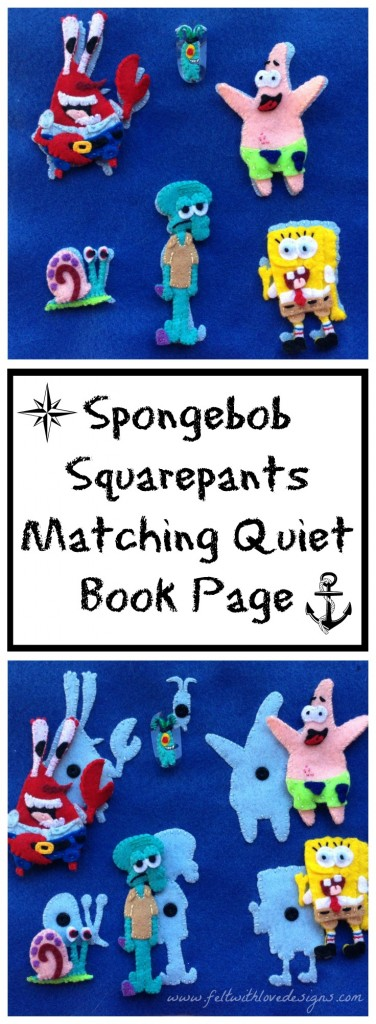 spongebob matching page title icons