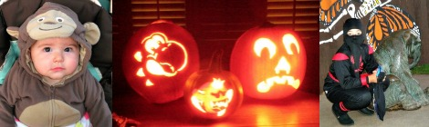 Family Fun: Pumpkin Carving and Halloween Costumes 2011