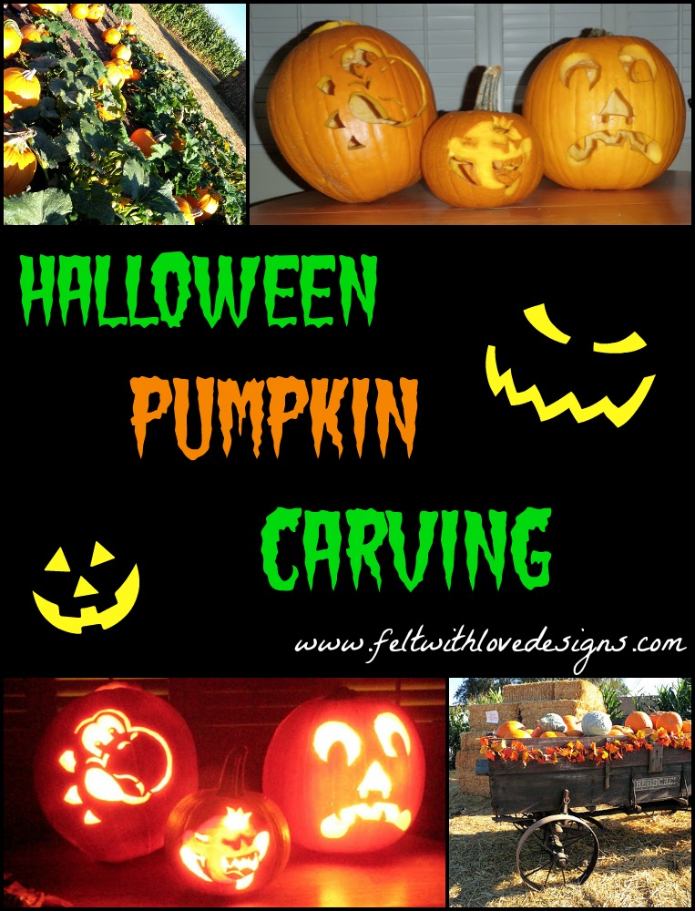 Halloween Pumpkins and Costumes 2011 Title  sc 1 st  Felt With Love Designs & Family Fun: Pumpkin Carving and Halloween Costumes 2011 - Felt With ...