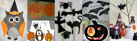 Links With Love: Easy, Last-Minute Halloween Crafts and Activities