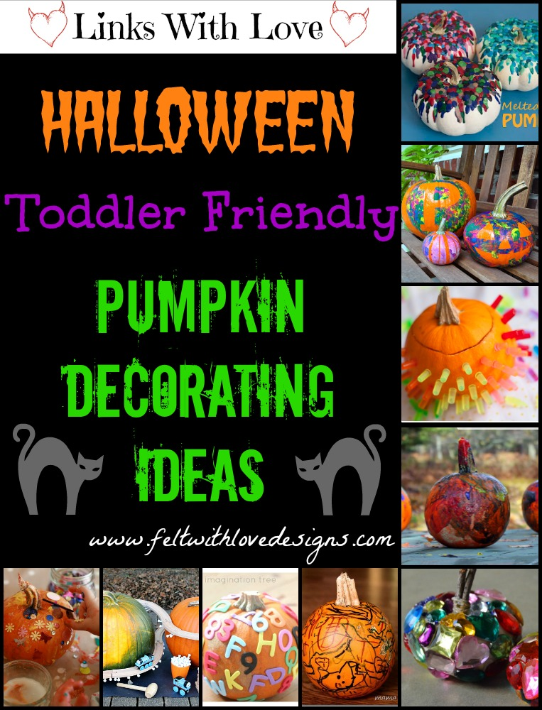 Links With Love Toddler Friendly Pumpkin Decorating