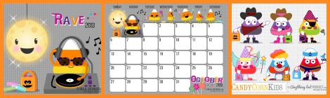 Just for Fun: Free Printable October Calendar!