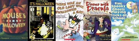 The Book Nook: 5 Rhyming Halloween Books