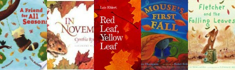The Book Nook: 5 Awesome Books About Fall and the Seasons