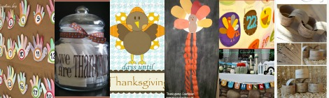 Links With Love: Thanksgiving Countdown Ideas