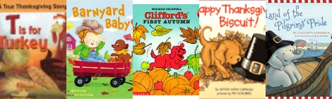The Book Nook: 5 of Our Favorite Thanksgiving Books