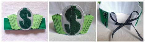 Reader Request: Felt Money-Themed Crown