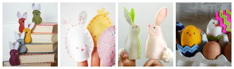 Links With Love: 8 Free Easter Finger Puppet Patterns
