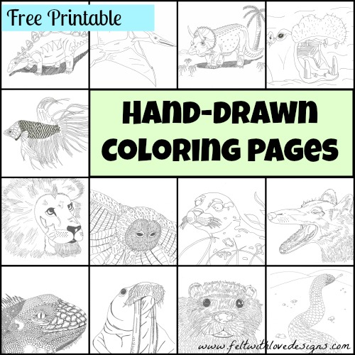 May Review Coloring Pages