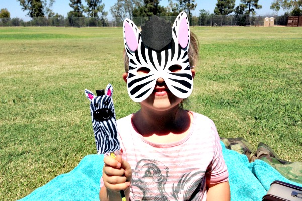 Animal Trackers Review 14 Zebra Mask and Puppet - Felt With Love Designs.jpg