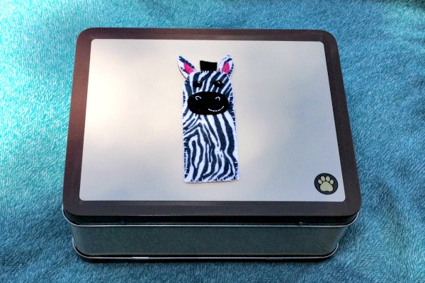 Zebra Finger Puppet Full - Felt With Love Designs