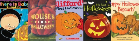 The Book Nook: 5 Books for Baby's First Halloween