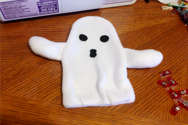Ghost Blankie Buddy Tutorial and Free Pattern - Flipped - Felt With Love Designs