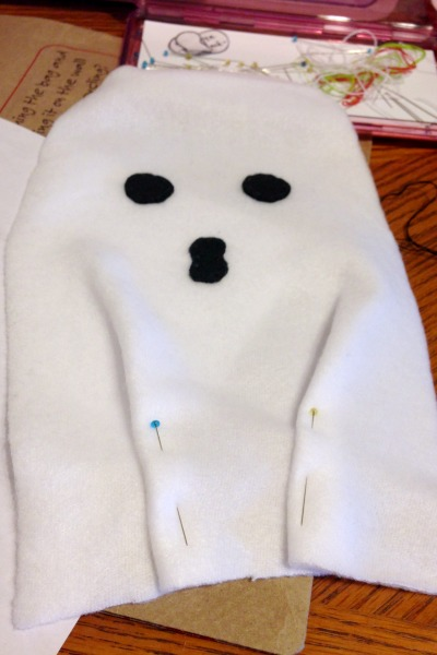 Ghost Blankie Buddy Tutorial and Free Pattern - Folds - Felt With Love Designs