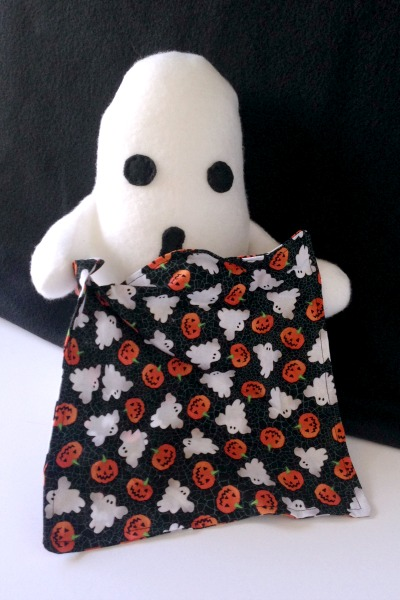 Ghost Blankie Buddy Tutorial and Free Pattern - Full Blankie - Felt With Love Designs