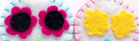 Day of the Dead Blog Tour: Felt Sugar Skull Ornaments