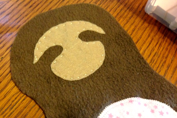 Sloth Blankie Buddy - Face Patch - Felt With Love Designs