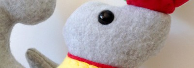 Circus Seal Softie Tutorial and Free Pattern