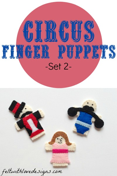 Circus Finger Puppets - Set 2
