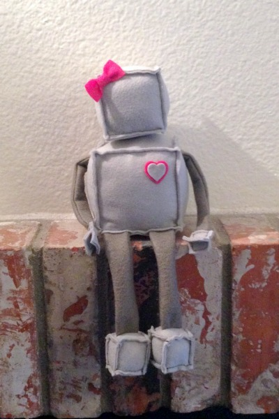 Robot Softie Mystery Challenge - full - Felt With Love Designs
