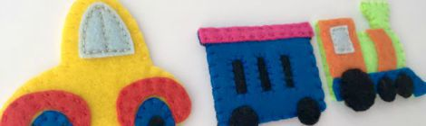 Circus Finger Puppets – Set 7 {Free Pattern}