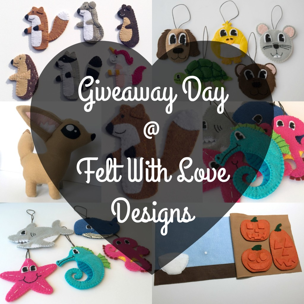 giveaway day collage with text