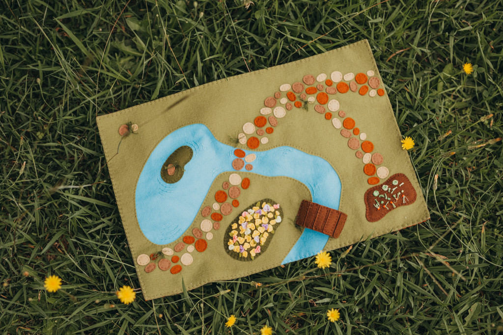 Enchanting Woodland Meadow Playscape Pattern-Felt With Love Designs-2