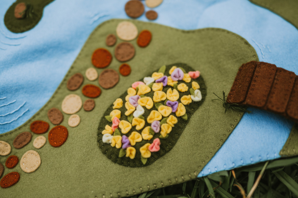Enchanting Woodland Meadow Playscape Pattern-Felt With Love Designs-3