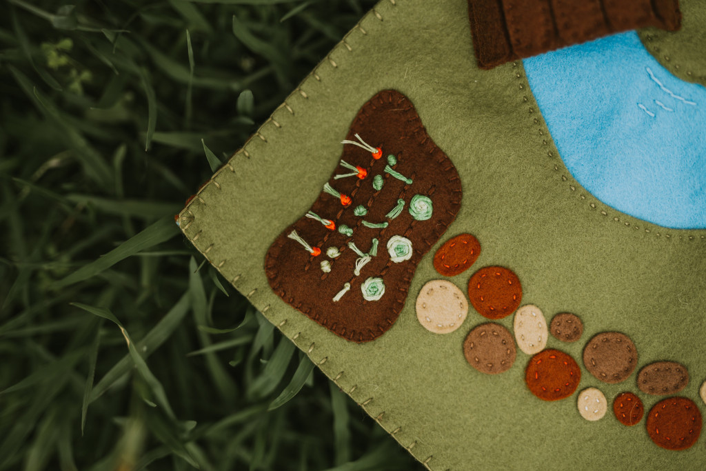 Enchanting Woodland Meadow Playscape Pattern-Felt With Love Designs-5