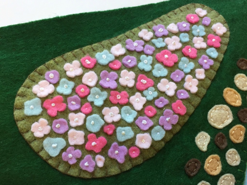 Enchanting Woodland Meadow Playscape Pattern-Felt With Love Designs-6