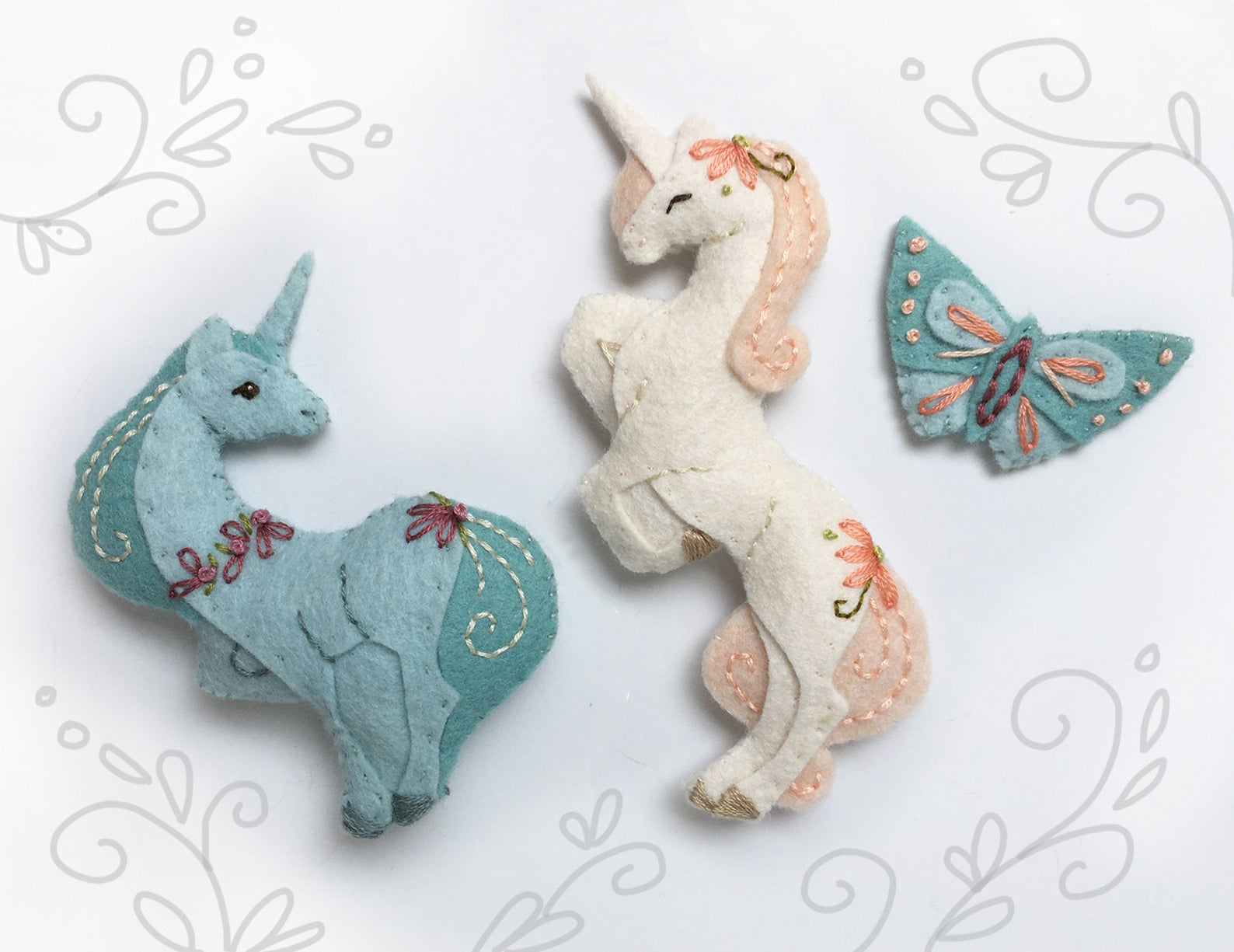 Unicorn Patterns And Projects Felt With Love Designs