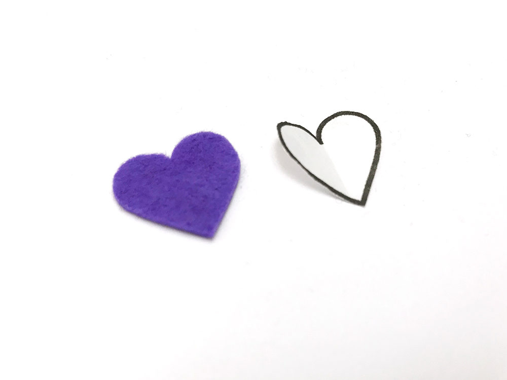 How to Transfer a Pattern to Felt - Felt With Love Designs